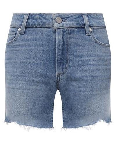 Джинсовые шорты - синие Paige