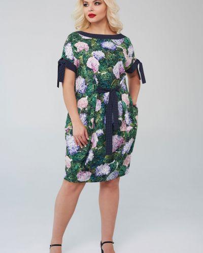 Летнее платье на торжество с завязками Mari-line