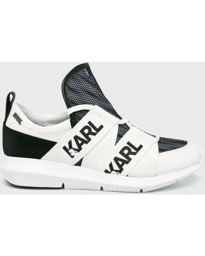 Кожаные кроссовки Karl Lagerfeld
