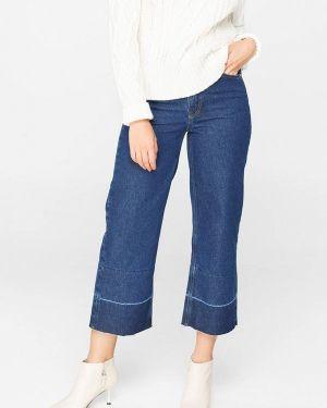 Широкие джинсы расклешенные синие Musthave