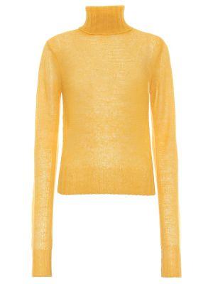 Шерстяной свитер - желтый Victoria Beckham