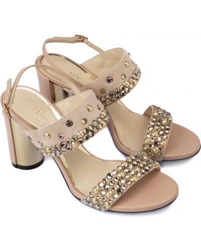 Sandały zamszowe Loriblu