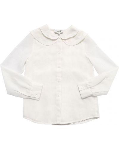 Biała koszula bawełniana Lanvin