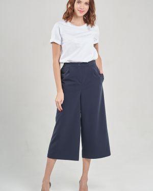 Костюмные укороченные брюки с карманами Mari-line