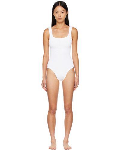 Biały strój kąpielowy Hunza G