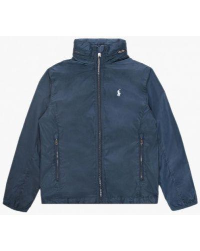 Облегченная синяя ветровка Polo Ralph Lauren