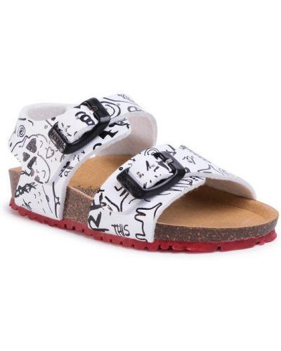 Sandały - białe Garvalin