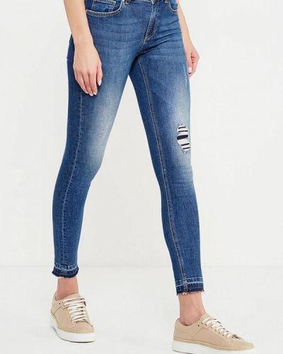 Синие джинсы-скинни Zoe Karssen