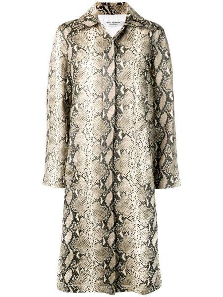 Пальто с воротником с карманами с потайной застежкой Philosophy Di Lorenzo Serafini