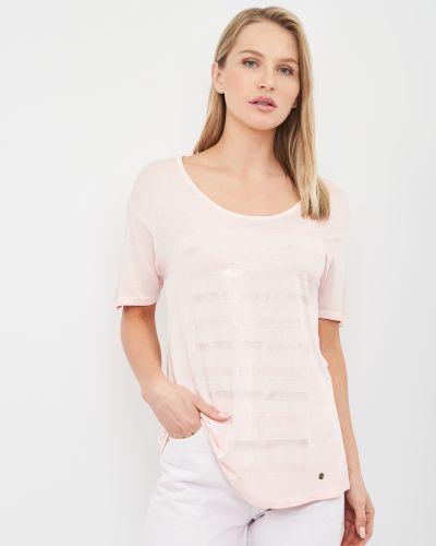 Базовая футболка - розовая Brax