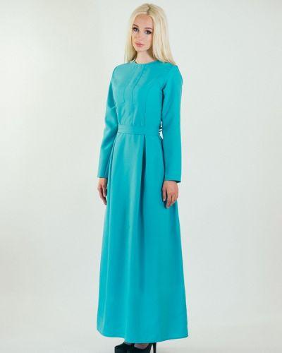 Повседневное платье весеннее бирюзовый Подіум