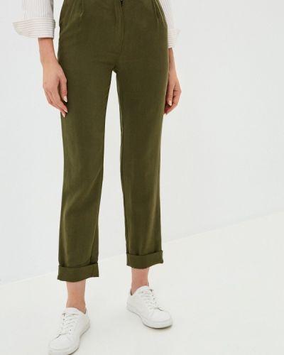 Повседневные зеленые брюки Base Forms
