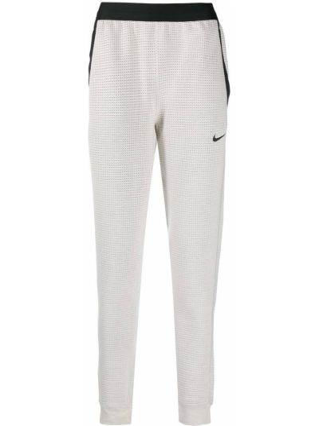 Bawełna biały dres z ozdobnym wykończeniem z kieszeniami Nike