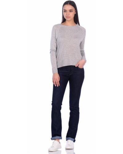 Синие прямые джинсы с низкой посадкой Mavi