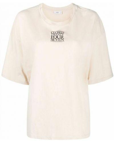 Beżowa t-shirt Closed