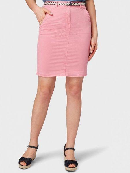 Юбка весенняя розовый Tom Tailor