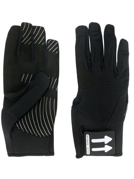 Czarne rękawiczki Off-white
