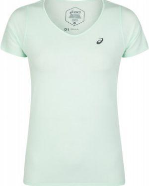 Футбольная приталенная спортивная футболка с V-образным вырезом для бега Asics