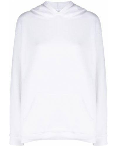 Белое худи с капюшоном с длинными рукавами Iro