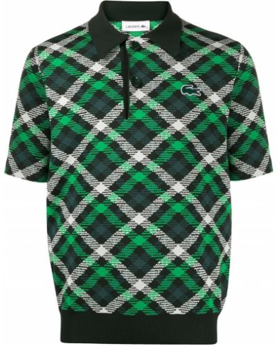 Klasyczna koszula, zielony Lacoste