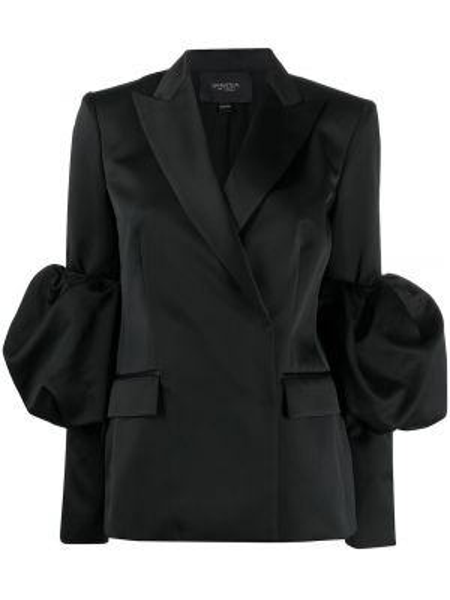 Куртка черная с запахом Giambattista Valli