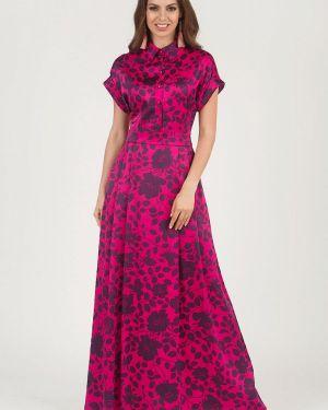 Повседневное платье розовое оливковый Olivegrey
