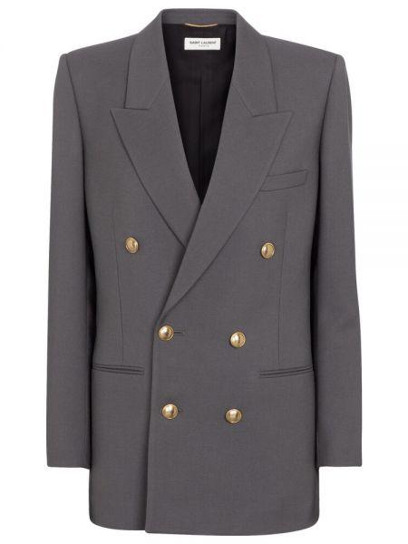 Шерстяной пиджак Saint Laurent