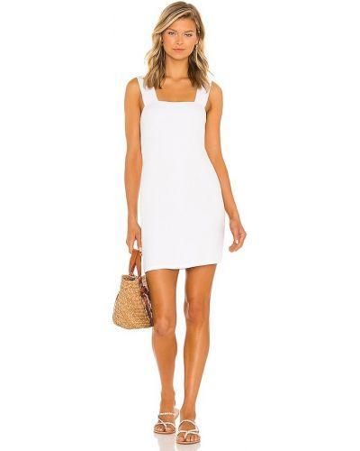 Платье из спандекса - белое Michael Lauren