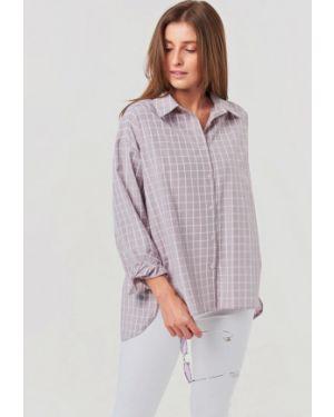 Рубашка с длинным рукавом серая Fly