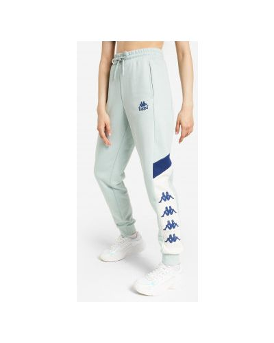 Хлопковые брюки - бежевые Kappa