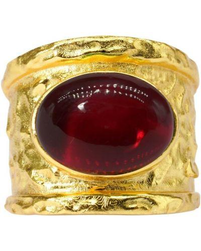 Czerwony pierścionek Dinari Jewels
