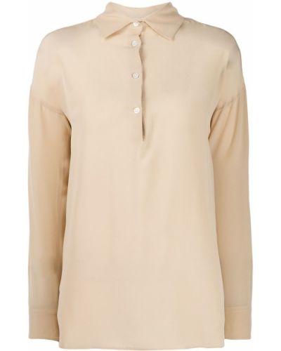 Рубашка с длинным рукавом в полоску под запонки Barena