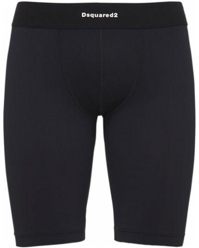 Czarne szorty Dsquared2 Underwear