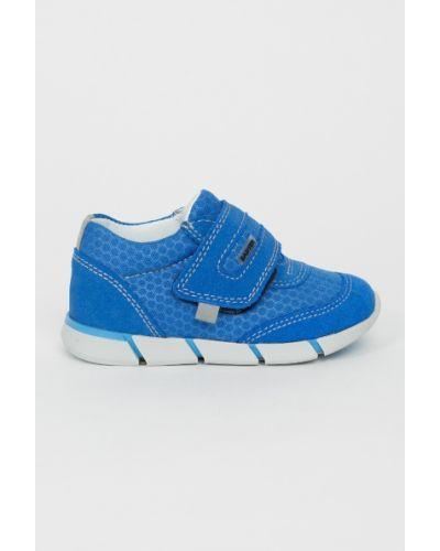 Туфли кожаные текстильные Bartek