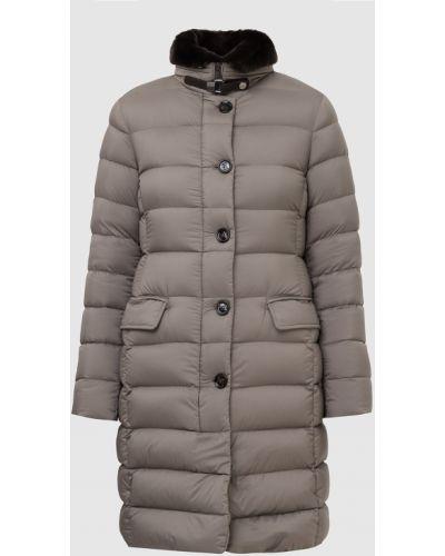 Серая куртка из кролика Moorer