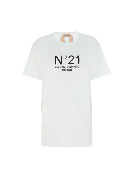 Biała t-shirt N°21