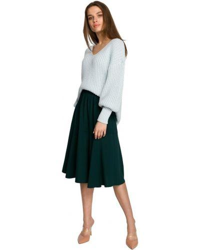 Spódnica z falbanami - zielona Style