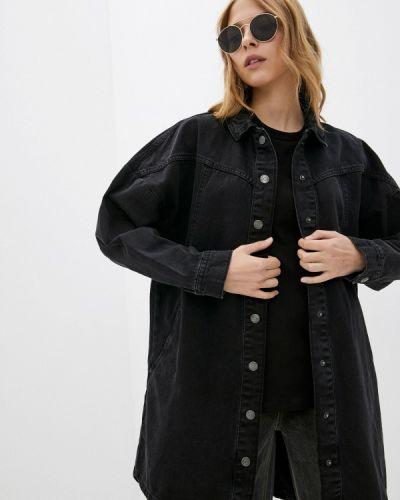 Джинсовая рубашка - черная Ostin