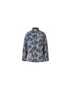 Рубашка серая Button Blue