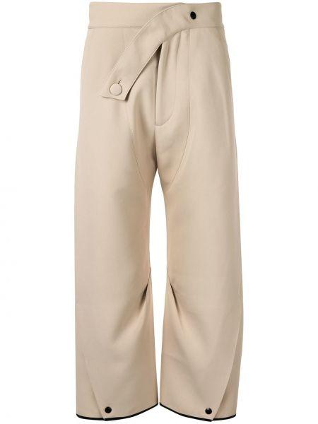 Spodnie bawełniane asymetryczne Kiko Kostadinov
