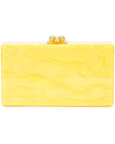 Желтая сумка Edie Parker