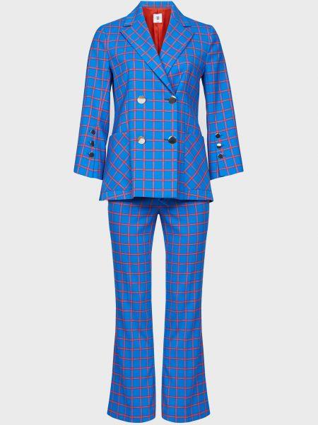 Костюмный костюм из вискозы на пуговицах Sfizio