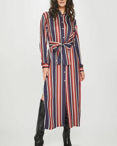 Платье миди из вискозы прямое Answear