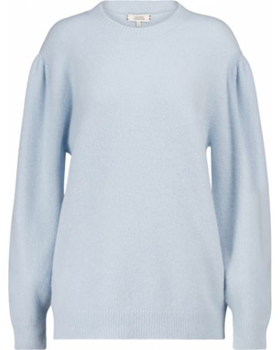 Синий пушистый шерстяной свитер Dorothee Schumacher