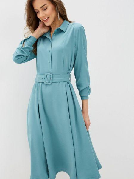 Платье серое платье-рубашка Incity