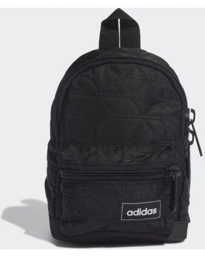 Черный рюкзак с карманами Adidas
