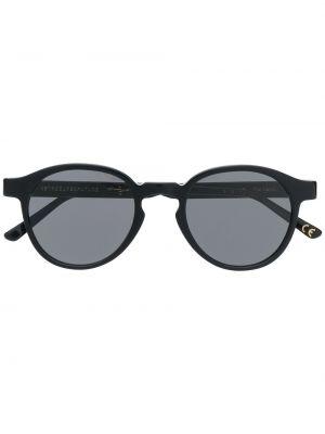 Прямые муслиновые черные солнцезащитные очки круглые Retrosuperfuture