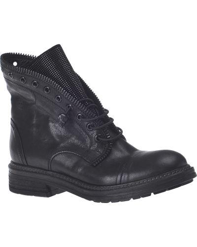 Черные ботинки на каблуке Fru.it