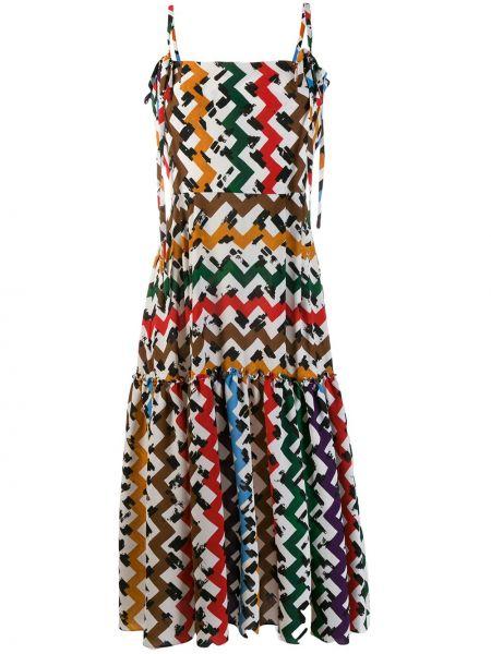 Приталенное платье миди на бретелях Edeline Lee