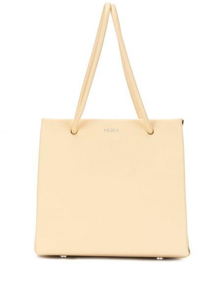 Кожаная сумка шоппер сумка-тоут Medea